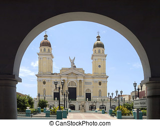 Town hall of Santiago de Cuba - The city hall of Santiago de...