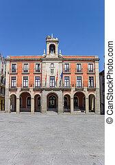 Town hall on the Plaza Mayor of Zamora