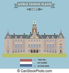 Town Hall, Rotterdam