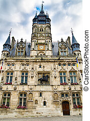 town hall in the Compiegne, France