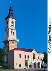 Town Hall Tower in Kamyanets-Podilskyi