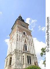 Town Hall Tower in Kracow