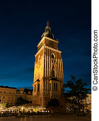 Town Hall Tower in Krakow