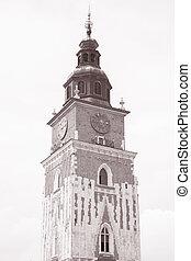 Town Hall Tower, Krakow, Poland