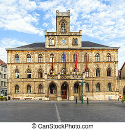 Town hall Weimar in Germany, UNESCO World Heritage Site