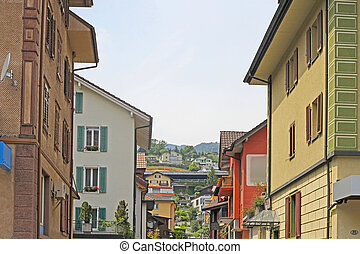 Town Howk in the Swiss Alps