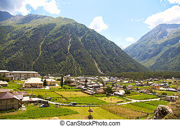 town in the valley