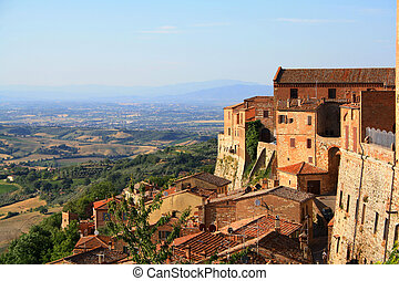 town in Tuscany. Italy