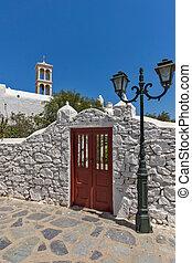 Town of Ano Mera, Mykonos