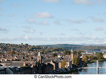 Town of Inverness, Scotland