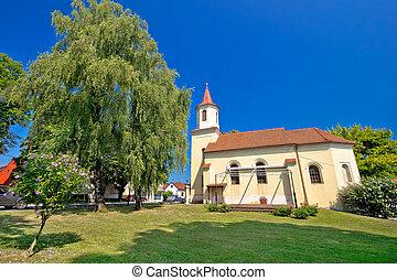 Town of Krizevci Saint Marko church, Prigorje, Croatia