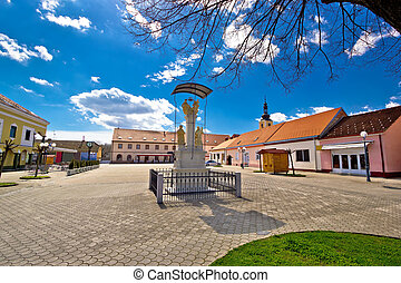 Town of Ludbreg central square