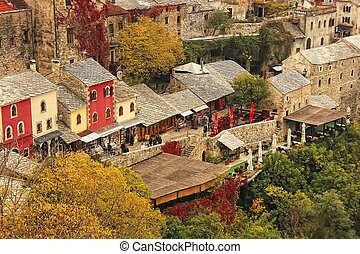 Town of Mostar, Bosnia and Herzegovina