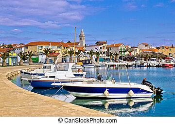 Town of Pakostane in Dalmatia - Town of Pakostane waterfront...