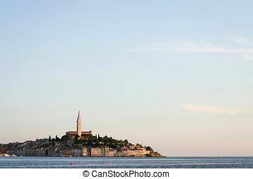 Town of Rovinj on Adriatic coast