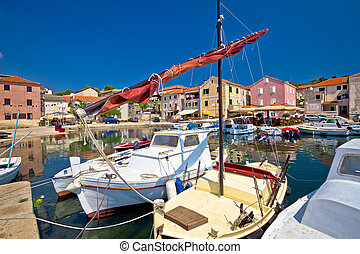 Town of Sali on Dugi otok island, Dalmatia, Croatia
