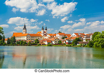Town of Telc - Telc is one of most beautiful towns in...