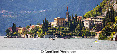 Varenna in Lake Como, Italy