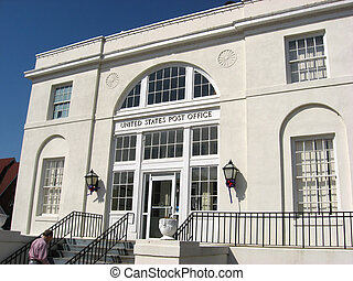 Town Post Office - This is the post office near where I live...