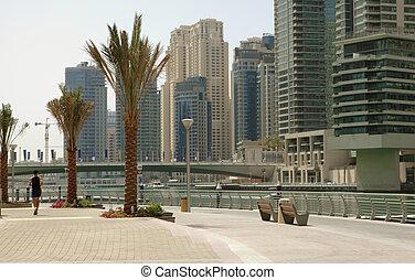Town scape. Dubai