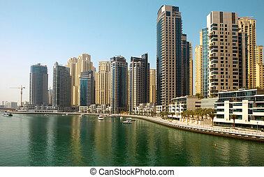 Town scape, Dubai