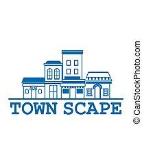 Town Scape Logo
