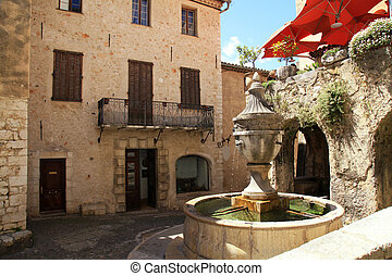 Saint Paul de Vence, one of the oldest towns in Provence,...
