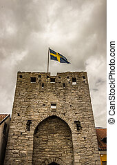 Town Wall in Visby
