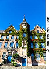townhall, in, dusseldorf, deutschland