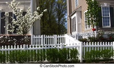 Townhomes in the suburbs - Community of town homes in the...