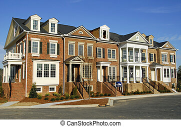 townhomes, luxo