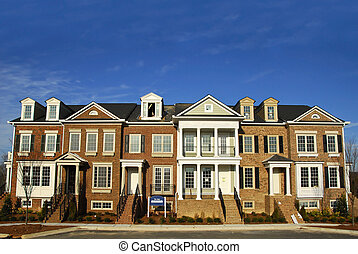 townhomes, luxus