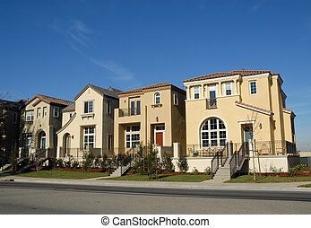 Townhomes, San Jose, California