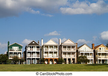 townhomes, upscale