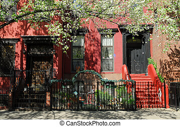 Townhouse in New York