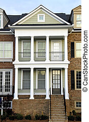 Townhouse - New luxury townhouse for sale in a suburban...