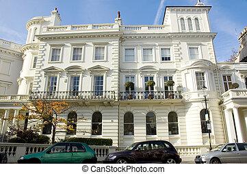 townhouses, ロンドン