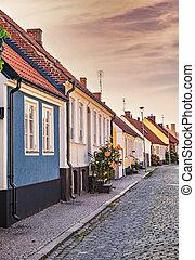 Townhouses in Simrishamn Sweden
