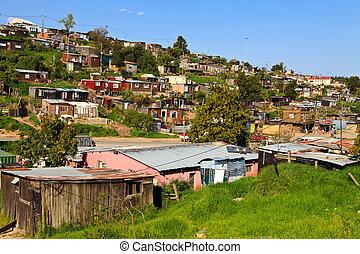 township, áfrica, sul