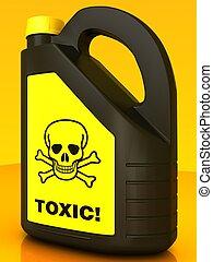 toxic!, buechse, gift