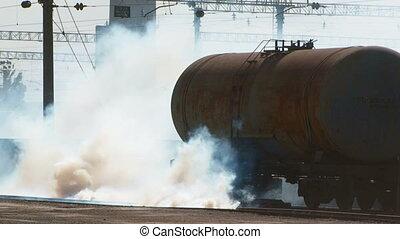 Toxic gases