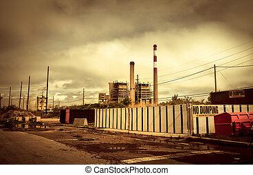 Toxic landscape