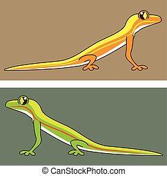 Toxic Lizard