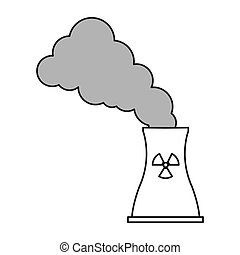 toxic waste contamination icon