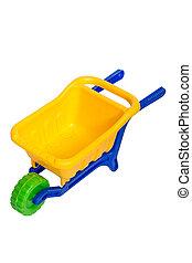 Toy 3 wheel 3 color small dumper