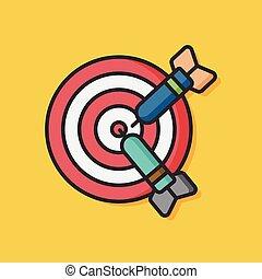 toy archery vector icon