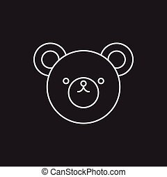 toy bear icon