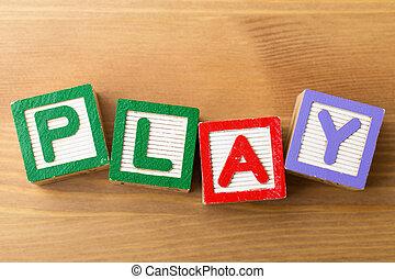 Toy block game