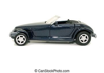 Toy Blue Car (8.2mp Image)