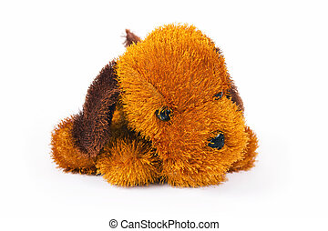 Toy brown doggie